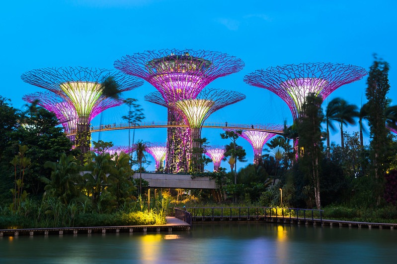 waterfront park of Singapore