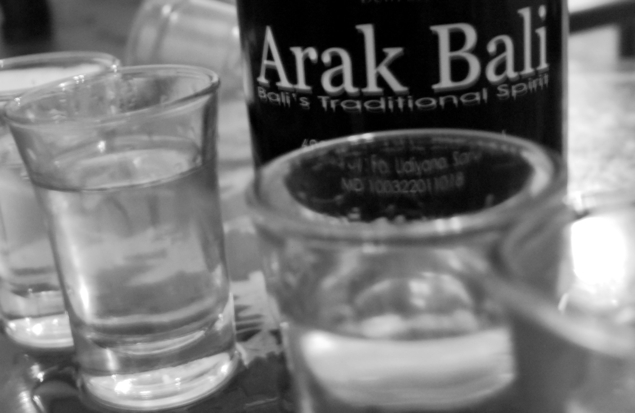 popular alcoholic beverages in Bali