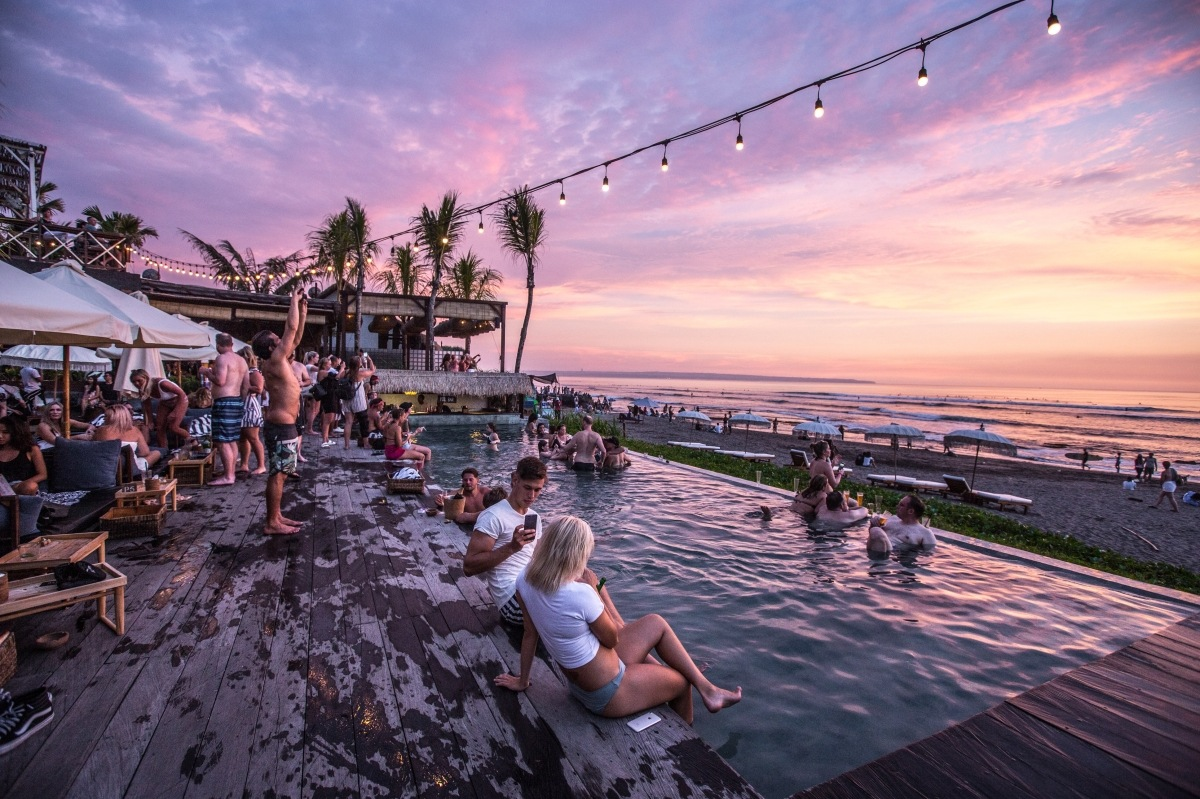 party hot spots of Bali