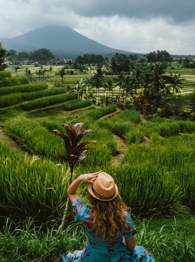picturesque landscapes of Bali