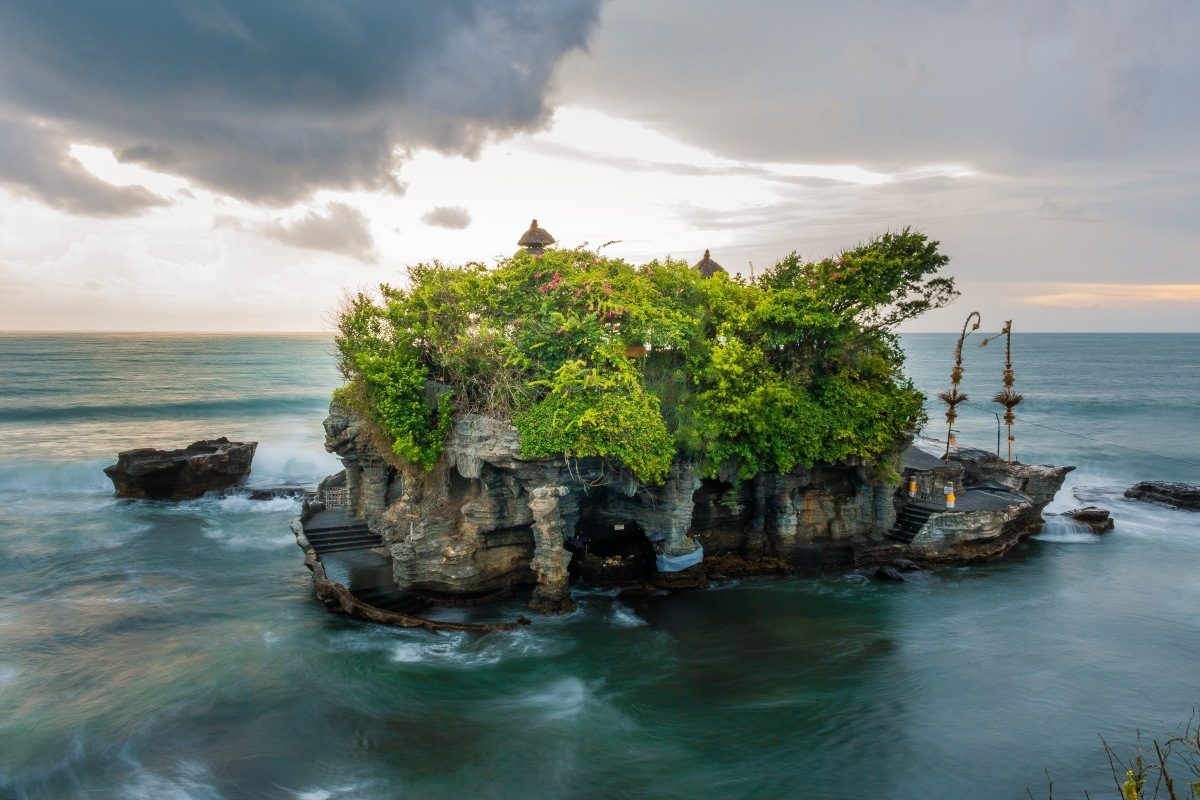 majestic rock formations of Bali