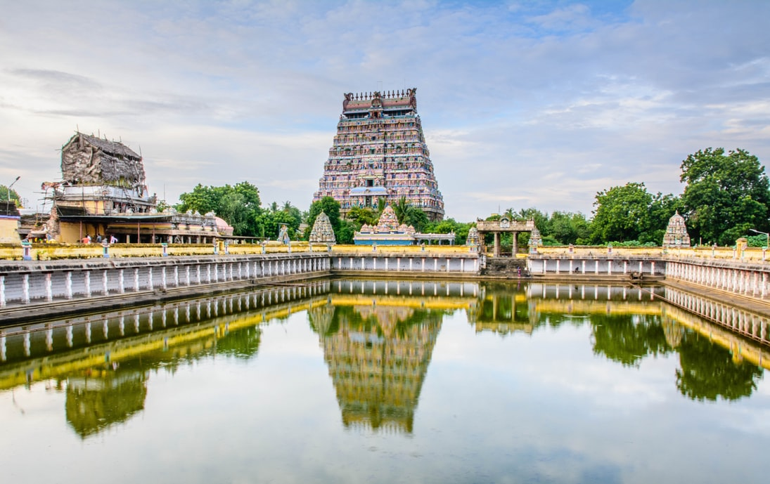 Temple in South India